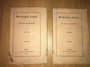 Laun, Washington Irwin. 2 Bände. 1870  #740
