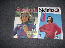 2 Steinbach Strick & Bastelhefte