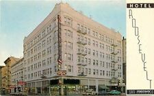 1950s Hotel Roosevelt autos Truck San Francisco California Cal Pictures 7577