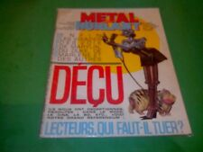 METAL HURLANT N°99 - ED HUMANOS. 1984.