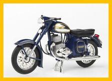 motorcycle JAWA 350 Kyvacka blue 1:18 ABREX