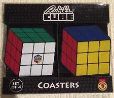 Rubiks Cube Set Of 4 Coasters