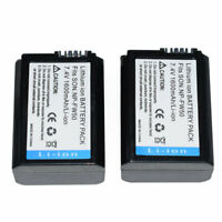 2X NP-FW50 replacement Battery for Sony NEX-3C NEX-5 Alpha A7 II A7R A7S A5100