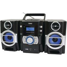 Naxa NPB-429 Portable MP3/CD Player w PLL FM Radio USB Input Aux-in Remote AC/DC