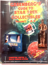 1991 Greenberg's Guide to Star Trek Collectibles Volume 1 A thru E- Great Photos
