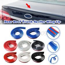 59'' 4.9ft Universal Carbon Fiber Car Rear Spoiler Wing Lip Tail Trunk Roof  !