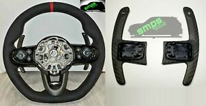 Mini Gen 3 F60 Countryman Paddle Shifters Matt Carbon Fiber, Cooper S, JCW
