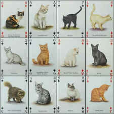 Fridge Magnet (FB6) Playing Card Cats Of The World - Various Breeds