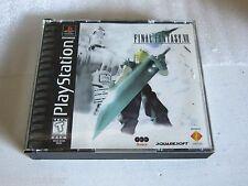 Final Fantasy VII (Sony PlayStation 1, 1997) No manual.
