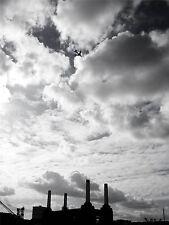 PHOTO ARCHITECTURE TRANSPORT BATTERSEA POWER STATION JET POSTER PRINT BMP10783