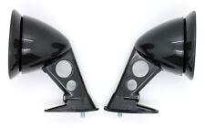 NEW JDM Style Black Fender Mount Side Mirrors PAIR / UNIVERSAL FIT Racing Mirror