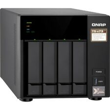 Qnap 215497 Nas Ts-473-4g-us 4bay Amd Rx-421nd 4gb Ddr4 4x 2.5 3.5 4xgbe Lan