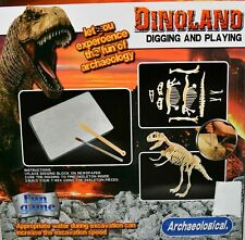 T-Rex Dinoland digging and playing - Archaeological
