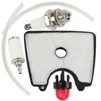 For Husqvarna 125B 125BVX Blower Vacuums Air Filter Tune Up Primer Bulb Part Kit