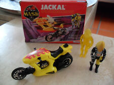 "M.A.S.K. ""Jackal""  Bruno Sheppard VENOM Jet Cycle Kenner"