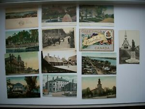 Lot of 13 Postcard Nova Scotia Canada #2