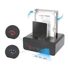 USB 3.0 SATA HDD/SSD 2,5 Zoll 3,5 Zoll Festplatten Docking Station Vollaluminium
