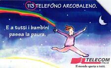 G 936 C&C 3019 SCHEDA TELEFONICA USATA TELEFONO ARCOBALENO