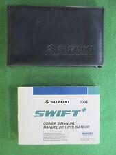 2004 04  Suzuki Swift Owners Manual Near New K18B