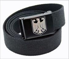 Custom Made Quality German Eagle Canvas Web Belt and Buckle