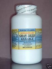 Grape seed extract, anti-aging, antioxidant cardio - 300 capsules. Made in USA.