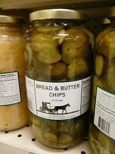 Amish of the Valley Preservatives: Bread and Butter Chips Pickles, 16 fl oz