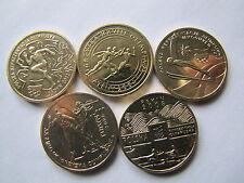 2 zł.seria olimpijska  5 szt. waga jednej monety  GN 8,15 grama UNC