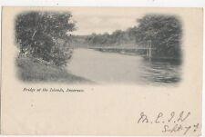 Bridge At The Islands Inverness 1903 Postcard 241a
