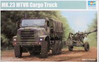 Trumpeter 1:35 - US MTVR MK.23 Cargo Truck 01011 Model Kit UK STOCK