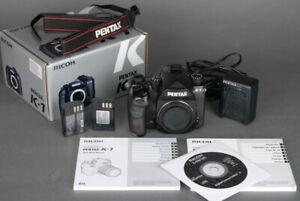 Pentax K-1 K1 36.4MP Full Frame Digital SLR  Camera 40K Act. 2Batt. + Warranty!