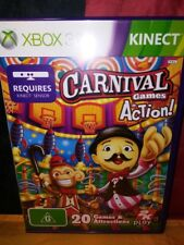 Carnival Games In Action - Microsoft Xbox 360 Kinect - Includes Manual