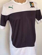 Puma Cameroon Shirt Training Jersey Gr. L Kamerun Herren Trikot White-Ebony Neu