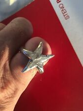 Sara Samoiloff Sterling Silver Star Ring, Rock and Roll jewelry Punk