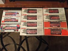 Lionel Southern Pacific Daylight F-3AA Set , 6-8261 F-3 B Unit and 8 Cars