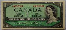 1954 (1973/1974) Canada One Dollar Banknote P.75.d Lawson-Bouey UNC SB5180
