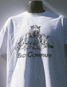 BAD COMPANY(RUN WITH THE PACK)  T-SHIRT