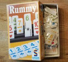RUMMY - Spieleklassiker von Schmidt Spiele® - Reisespiel - guter Zustand*