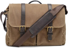 ONA - The Brixton - Camera Messenger Bag - Field Tan Waxed Canvas (ONA5-013RT)