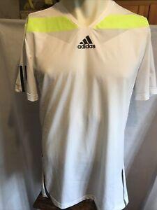 Adidas Barricade Formotion tennis shirt Size L  ( W603 )
