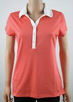 Tommy Hilfiger Orange Polo Shirt - M