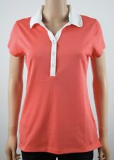 Tommy Hilfiger Orange Polo Shirt - M