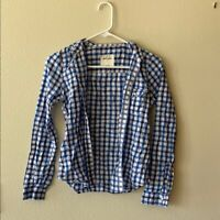 Boys Abercrombie & Fitch Long Sleeve Button Up Shirt