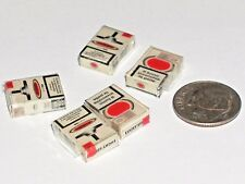 1pc Miniature dollhouse tiny little Smoking Cigarettes Boxes findings 15mm