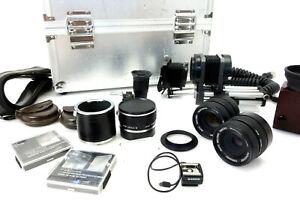 Leica R Novoflex Balgen Sucher Extender 2x  Elpro Noflexar 105 f4 60 f4 jn046