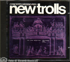 NEW TROLLS CONCERTO GROSSO PER I NEW TROLLS N. 1 E N. 2 (Fonit Cetra No Bar Code