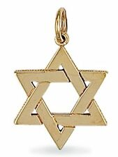 9ct Gold Large Star of David pendant 4.1g