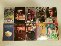 Lot Of 10 Cassette Singles Pop Rap Hip Hop 80s 90s