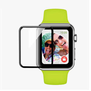 FULL SCREEN CURVED TEMPERED GLASS PROTECTOR For Apple Watch Series 5/4/3/2/1