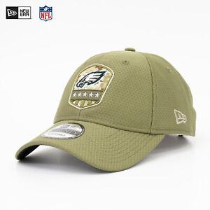 New Era 9Twenty CAP NFL Philadelphia Eagles Salute to Service 19 Army Olive Sale