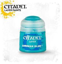 AHRIMAN BLUE 22-76 Paint Pot (Games Workshop Citadel Warhammer)